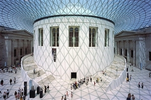 Tourist Place British Museum in London England Wallpapers