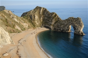Tourist Place Durdle Door Jurassic Coast Lulworth in Dorset England Country HD Wallpaper