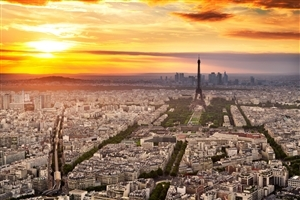 Travel Photography of Paris City Wallpaper