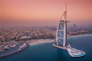 Visiting Place Burj Al Arab in Dubai