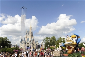 Walt Disney World Theme Park in Florida US HD Wallpaper