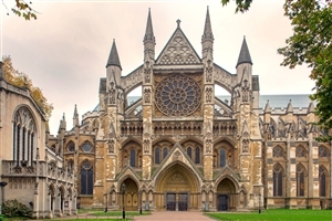 Westminster Abbey Collegiate Church in UK