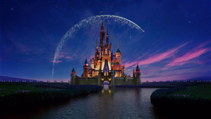 Disneyland Park Creative Photo in Anaheim California
