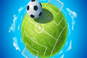 Football Ground Creative Wallpaper