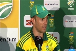 AB de Villiers South African Cricket Player in Press Conferance Wallpaper