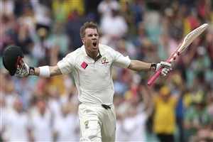 Australian Batsman David Warner Photo