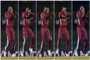 Chris Gayle West Indies Cricketer doing Dance Garanam Style Wallpapers