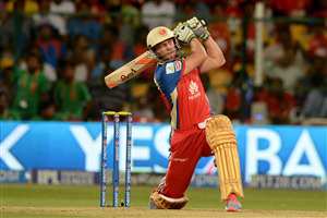 Cricketer AB de Villiers in IPL Wallpaper