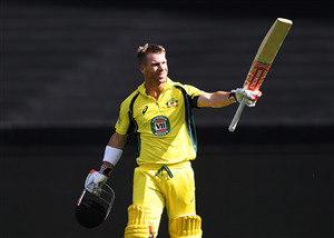David Warner Australian Cricketer in Cricket World Cup 2019 4K Wallpaper