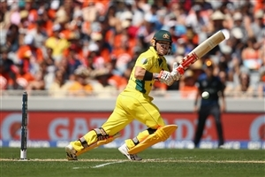 David Warner Australian Cricketer in T20 Worldcup Wallpaper