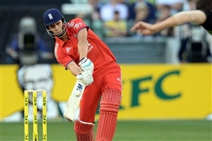 Famous England Cricket Player Batsman Alex Hales During Match Image