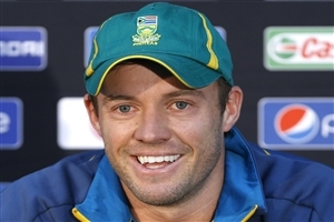 Famous South African Cricket Player AB de Villiers in Worldcup 2015 Images
