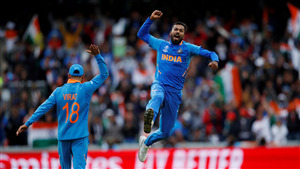 Hardik Pandya Indian Cricketer in World Cup 2019 5K Wallpaper