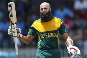 Hashim Amla South African Cricketer in T20 World Cup Wallpaper