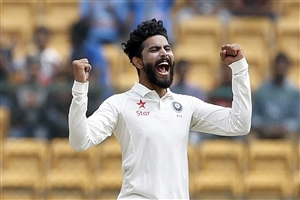 Indian Cricketer Ravindra Jadeja Photo