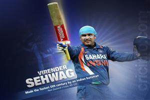 Indian Cricketer Virender Sehwag Wallpapers