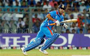 MS Dhoni Indian Cricketer Wallpaper