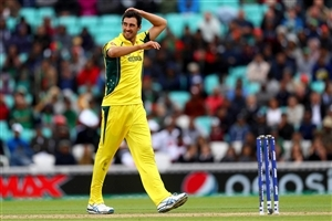 Mitchell Starc Australian Fast Bowler Photo