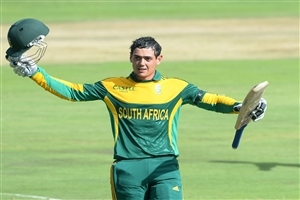 Quinton de Kock in T20 Cricket Worldcup 2016 HD Wallpapers