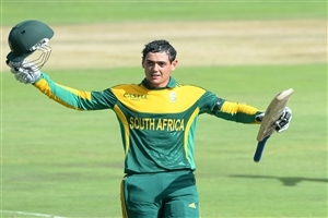 Quinton de Kock of South Africa Celebrates Century in One Day Wallpaper