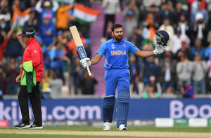Rohit Sharma Indian Cricketer in Cricket World Cup 2019 4K Wallpaper
