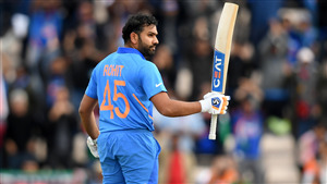Rohit Sharma in Cricket World Cup 2019 4K Photo
