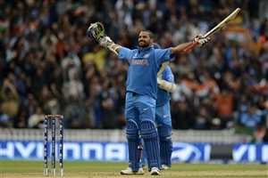 Shikhar Dhawan in T20 Worldcup HD Wallpapers