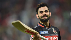 Virat Kohli While Batting Photo