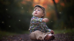 Amazing Baby Boy 4K Photography