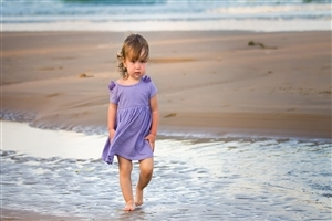 Beautiful Baby on Beach