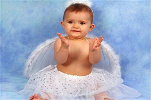 Cute Baby Angel Girl