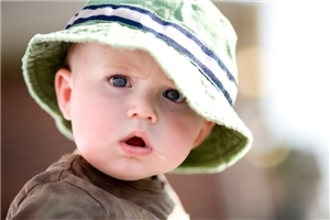 Cute Baby Boy Wear Round Cap HD Pics