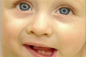 Cute Baby Child Closeup Pic Image