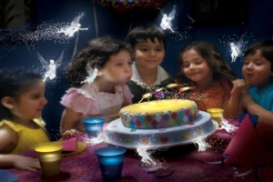 Cute Childrens in Birthday Party HD Wallpapers