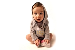Cute Little Baby in Cap Wear Clothes HD Photos