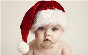 Cute Santa Baby HD Photo