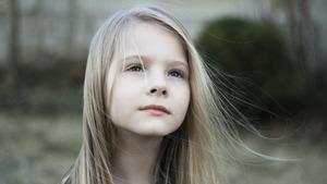 915 Download 1082 Views Scenic Child Girl 5K Wallpaper