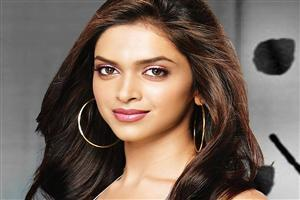 Cute Hair Style of Deepika Padukone