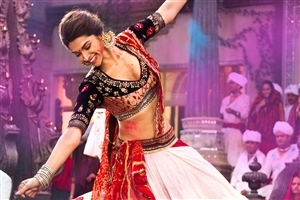 Deepika Padukone Dancing in Bollywood Movie Ram Leela