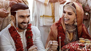 Deepika Padukone and Ranveer Singh Wedding Awaited New Pic