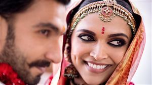 Deepika Padukone with Ranveer Singh Wedding Superb Photoshoot
