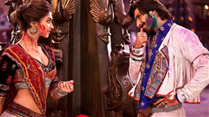 Deepika Padukone with Ranveer Singh in Film Ram Leela 8K Wallpaper
