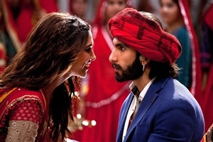 Deepika and Ranveer Singh in Bollywood Movie Ram Leela