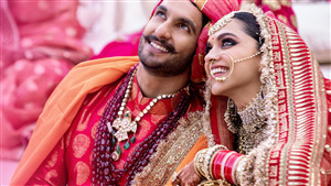 Marrige Photoshoot of Ranveer Singh and Deepika Padukone