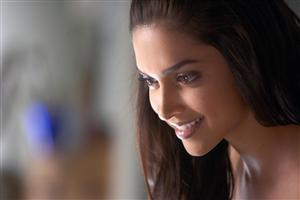 Smiling Close Up of Deepika Padukone