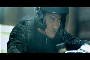 Aamir Khan in Movie Dhoom 3