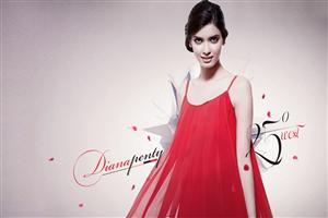 Hot Diana Penty in Red Dress