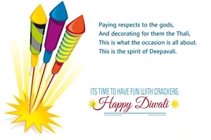 Beautiful HD Wallpaper of Happy Diwali Greeting Wish