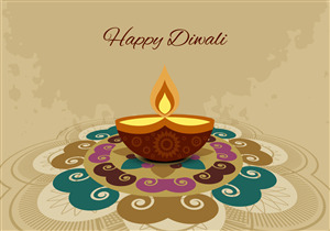 Diwali Rangoli Background Wallpaper