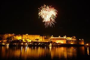 Diwali in Udaipur India Festival Celebration Wallpapers